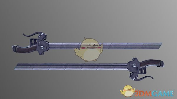 《怪物猎人:世界》进击的巨人立体机动装置双刀MOD