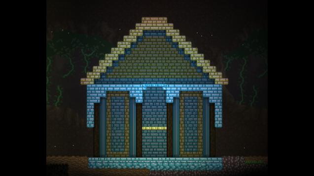 《星界边境》发光瓷砖方块MOD