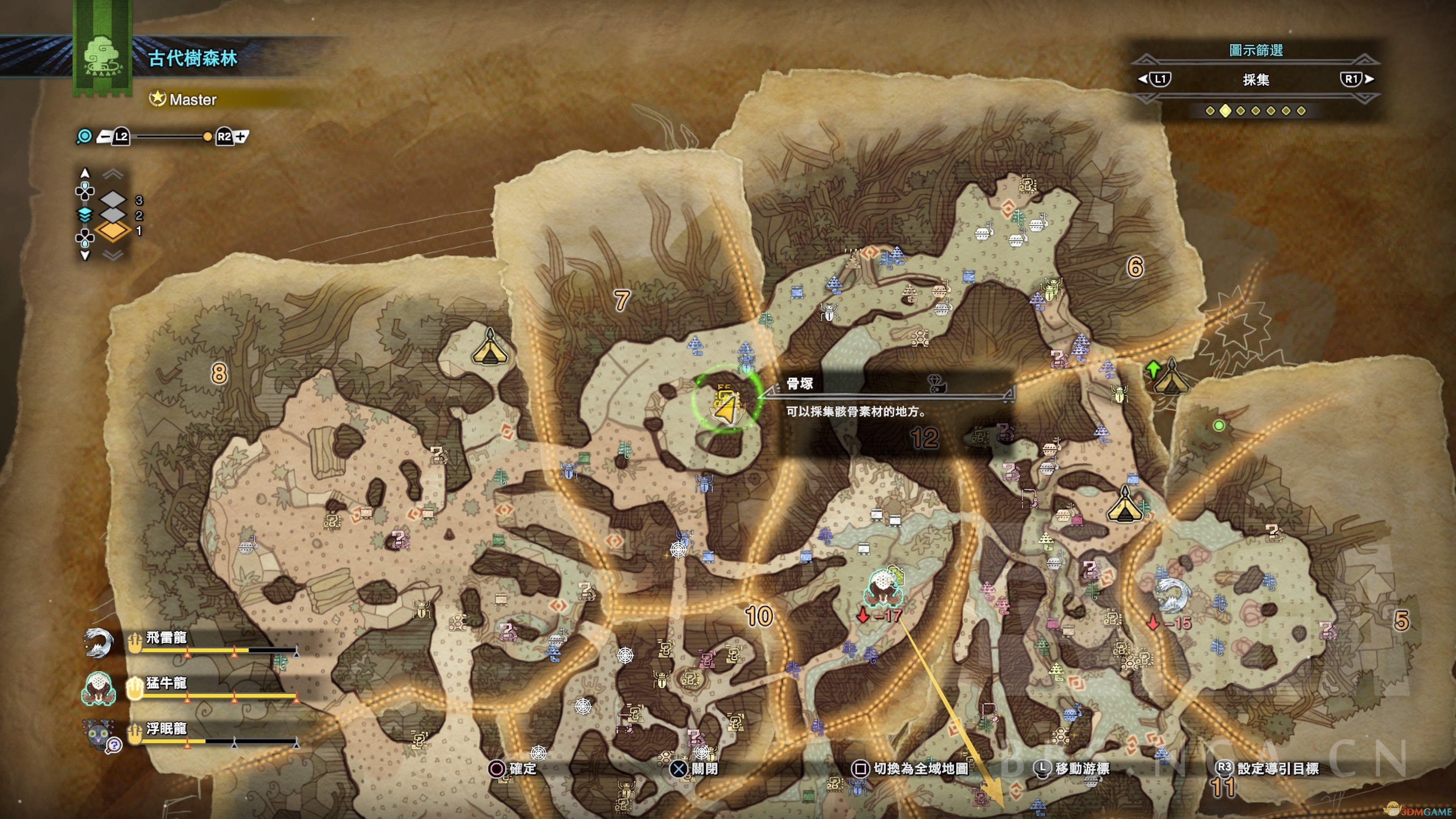《怪物猎人:世界》宝藏分享的祝福04位置攻略