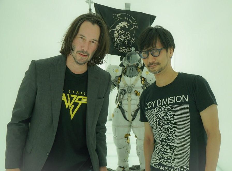小岛秀夫谈:基努里维斯是否会出现在《死亡搁浅》中?