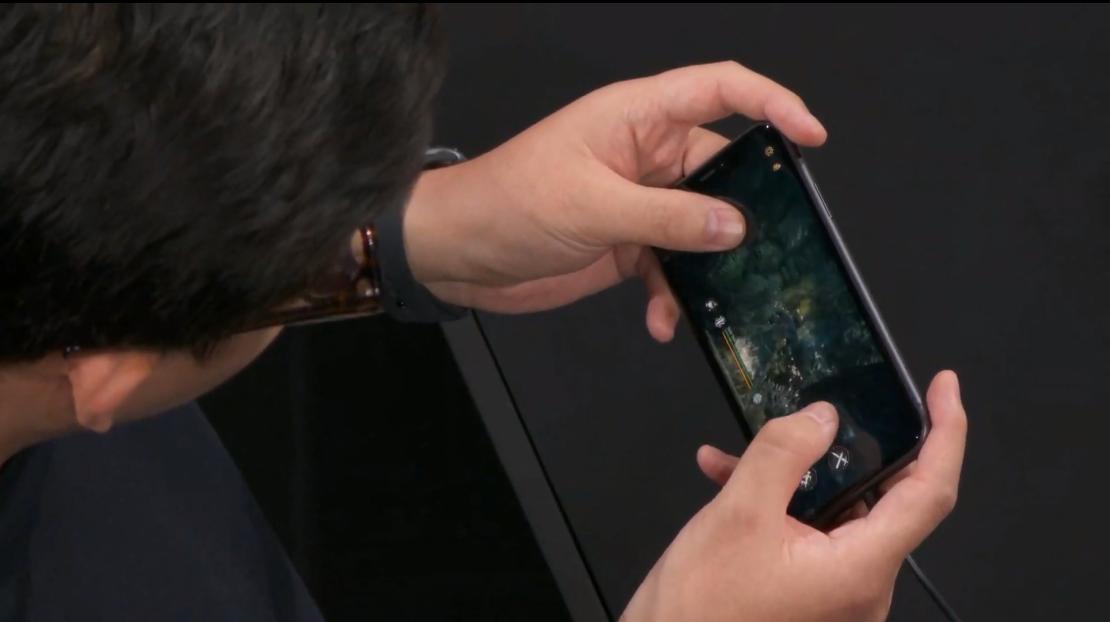 苹果发布会的看点除了浴霸三摄之外,还有这款来自中国的游戏