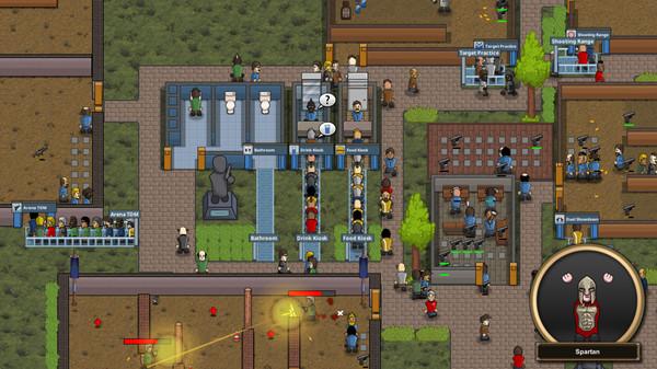 《大逃杀大亨》游戏背景介绍 模拟经营式的竞技场
