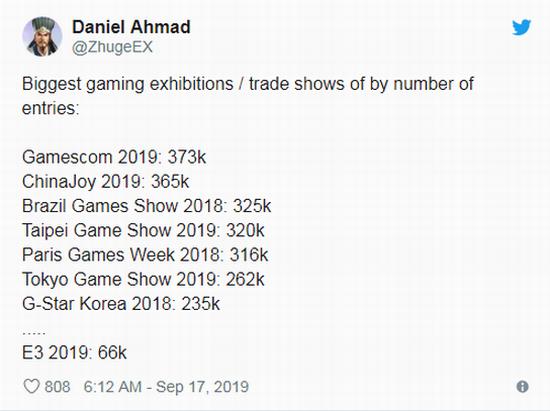 E3游戏展或将迎来全面改革 吸引更多人前来参展