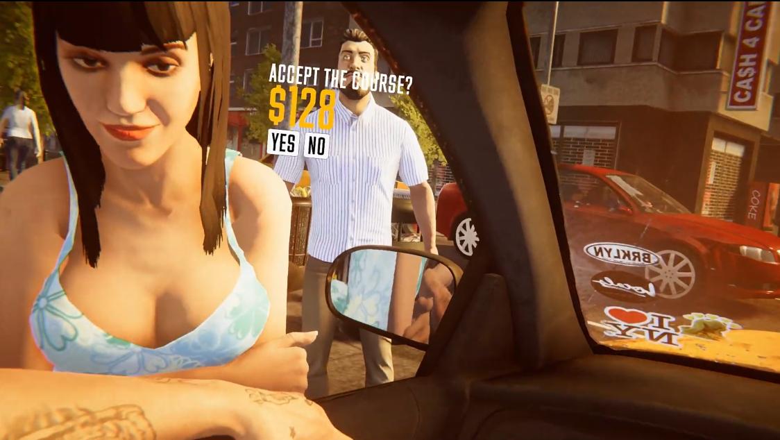 无敌司机再就业  《出租车模拟器》 实机宣传片公开