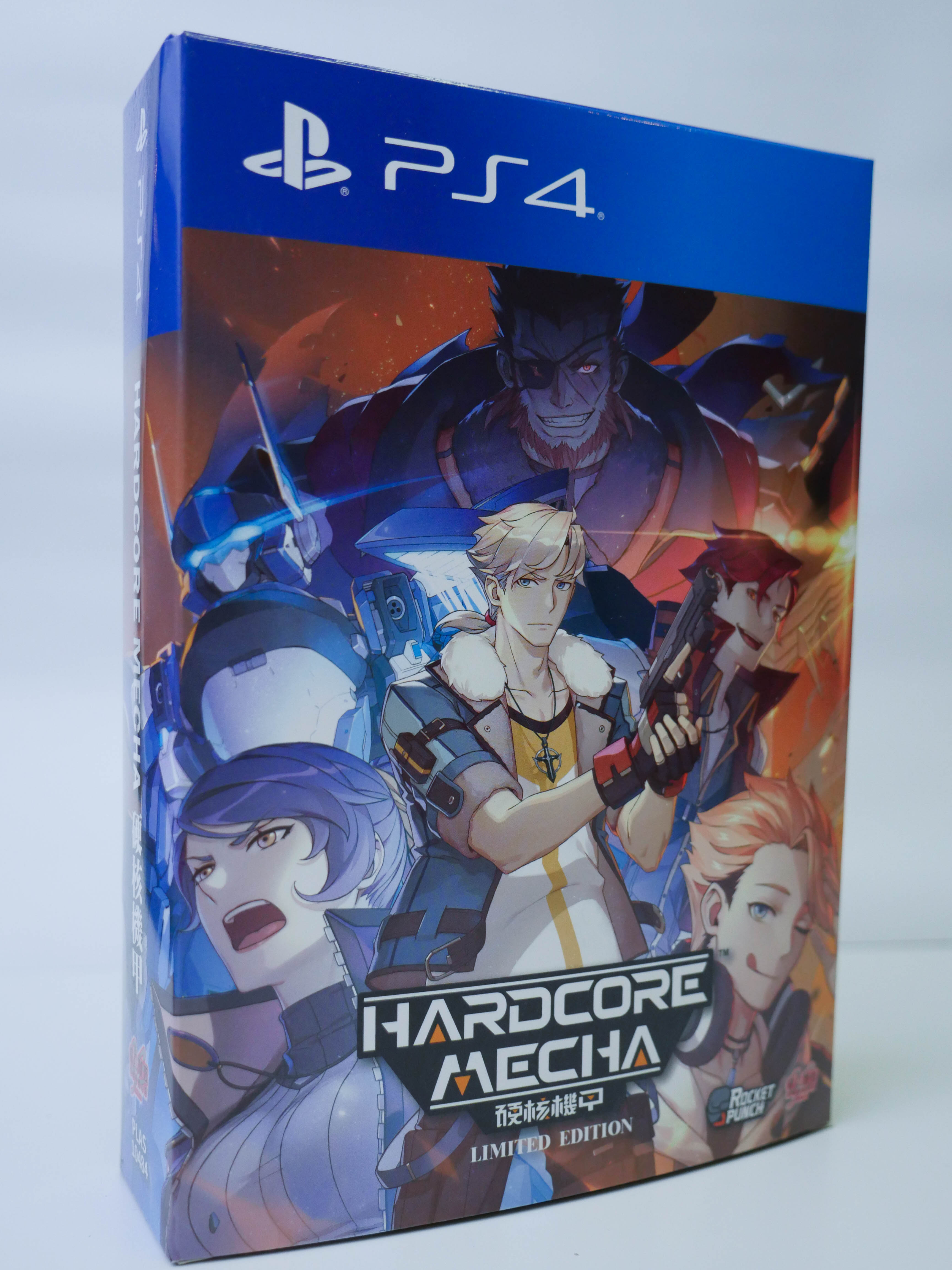 2D横向射击游戏 《硬核机甲》PS4版本正式上市