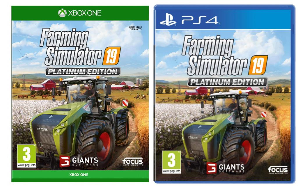 史上百万销量最大型的农耕模拟游戏, 《模拟农场19》 上线