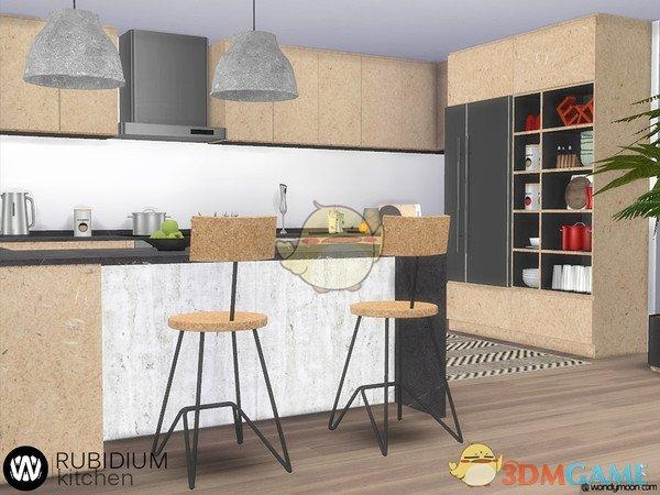 《模拟人生4》精致厨房家具MOD