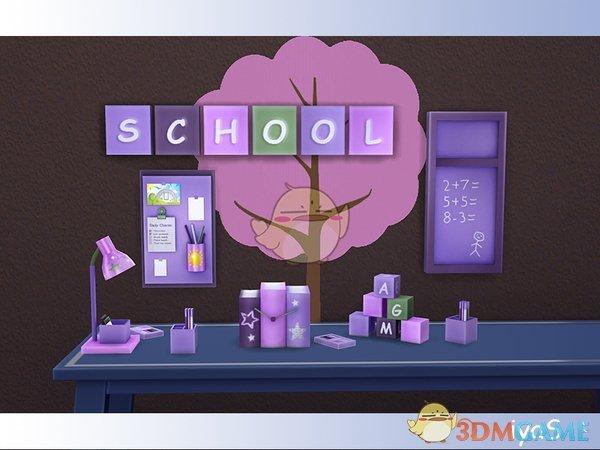 《模拟人生4》儿童学习家具装饰品MOD