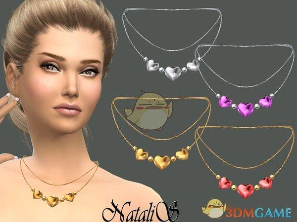 《模拟人生4》爱心珍珠项链MOD