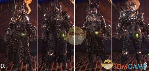 《怪物猎人:世界》尸套龙套装增强MOD