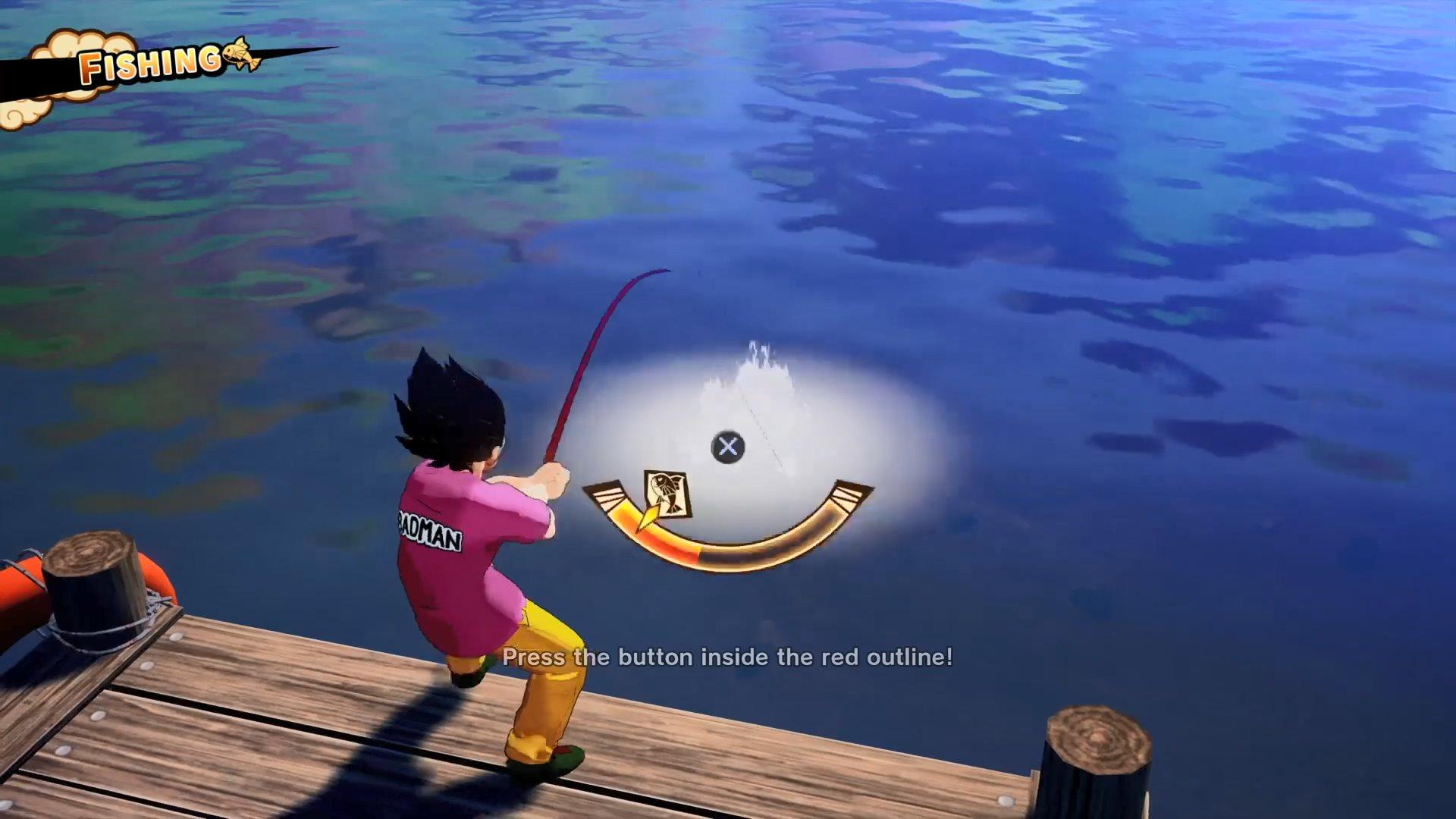钓鱼烧烤一手抓 《龙珠Z:卡卡罗特》贝吉塔演示公开