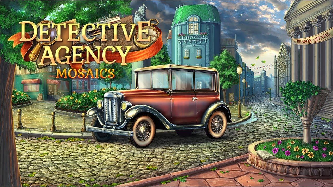 《侦探局马赛克》英文免安装版