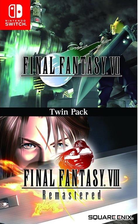 《最终幻想7+8重制版》NS实体版公布 2019年内发售