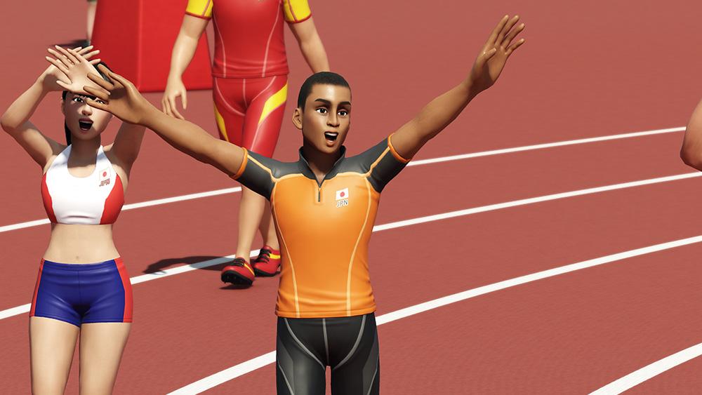 《2020东京奥运 官方授权游戏》免费升级 追加新项目和顶级健将