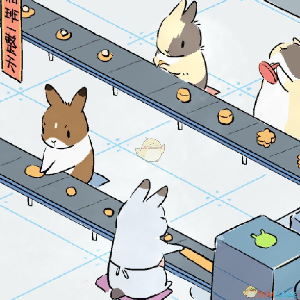 《Wallpaper Engine》兔子的月饼工厂动态壁纸