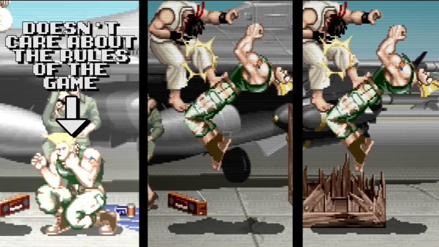 不是错觉!逐帧分析显示《街霸2》的CPU真的会作弊