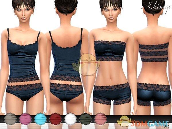 《模拟人生4》多款式性感蕾丝内衣MOD