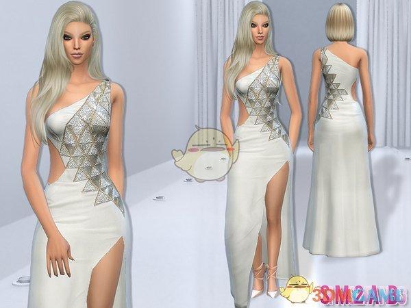 《模拟人生4》时尚现代女性连衣裙MOD