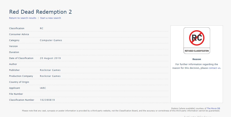 PC版将公布?《荒野大镖客2》在澳洲终于通过评级了
