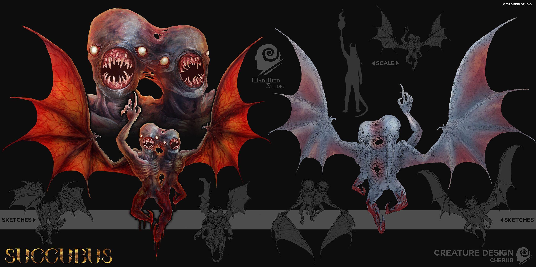 大尺度恐怖游戏《魅魔》新怪物介绍 烦人的小恶魔