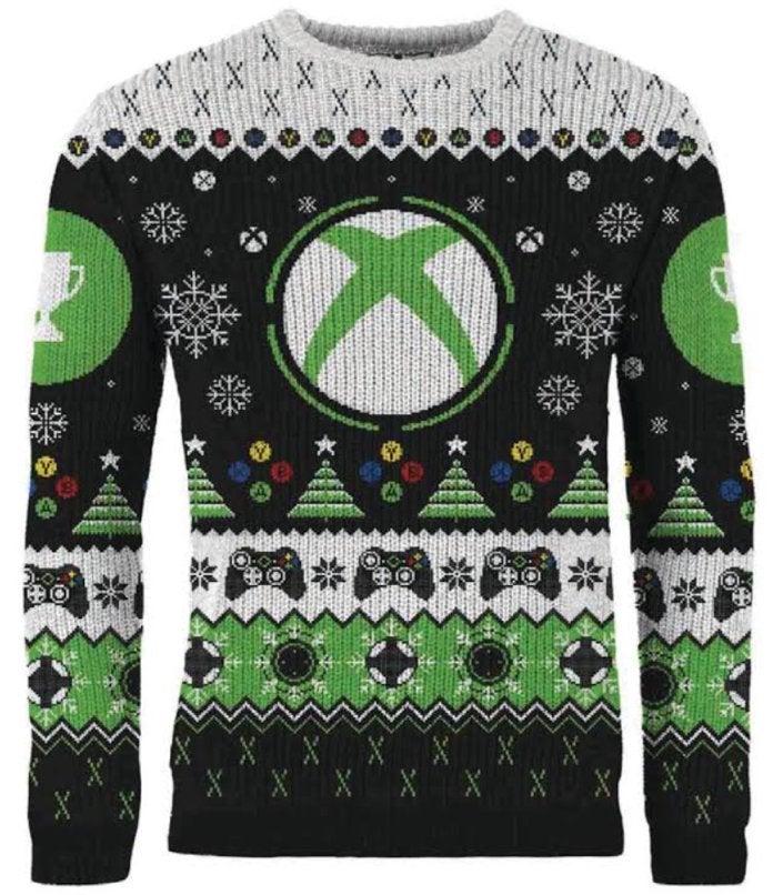 """丑还是潮?微软圣诞献礼推出官方Xbox款""""丑毛衣"""""""