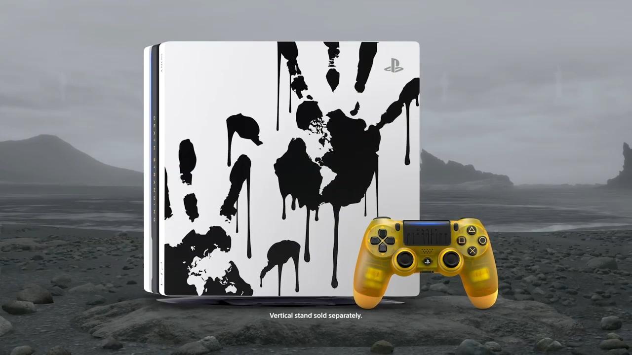《死亡搁浅》限定同捆版PS4 Pro游戏主机11月8日发售