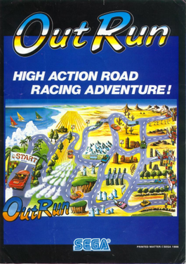 游戏历史上的今天:Outrun在日本发售
