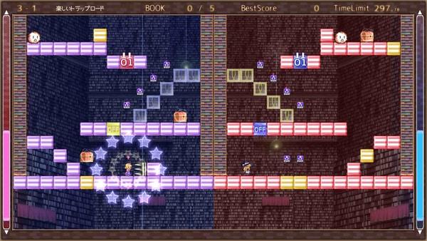 东方2D解谜!NS版《魔理沙和爱丽丝的陷阱塔》即将发售