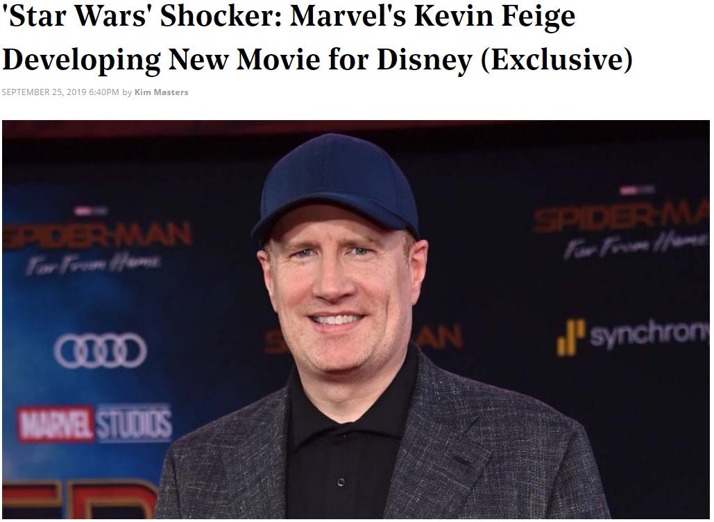 迪士尼真会玩? 漫威老大将制作《星球大战》新电影