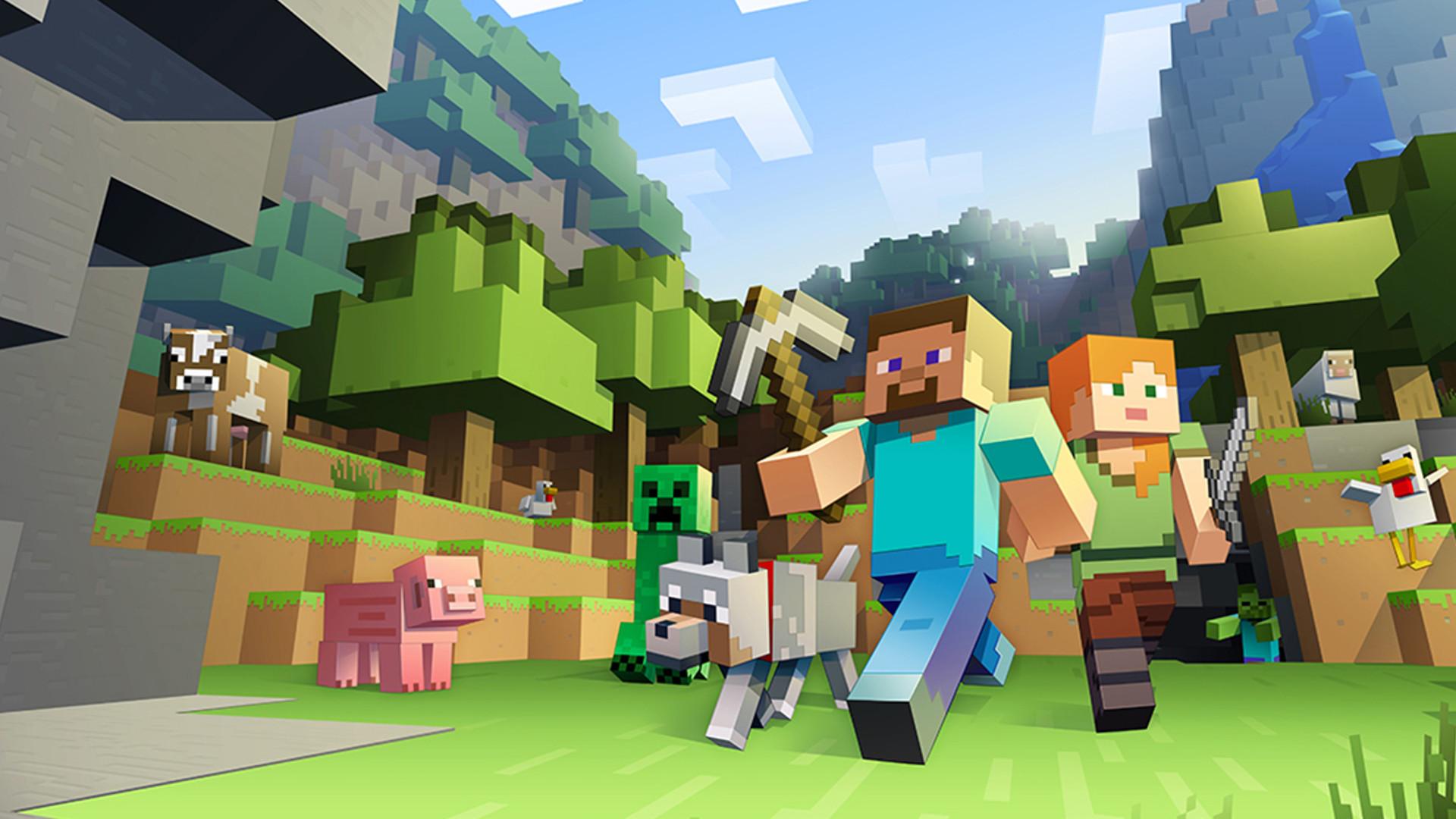 《我的世界》玩家平均年龄为24岁 小孩和成年人都爱玩
