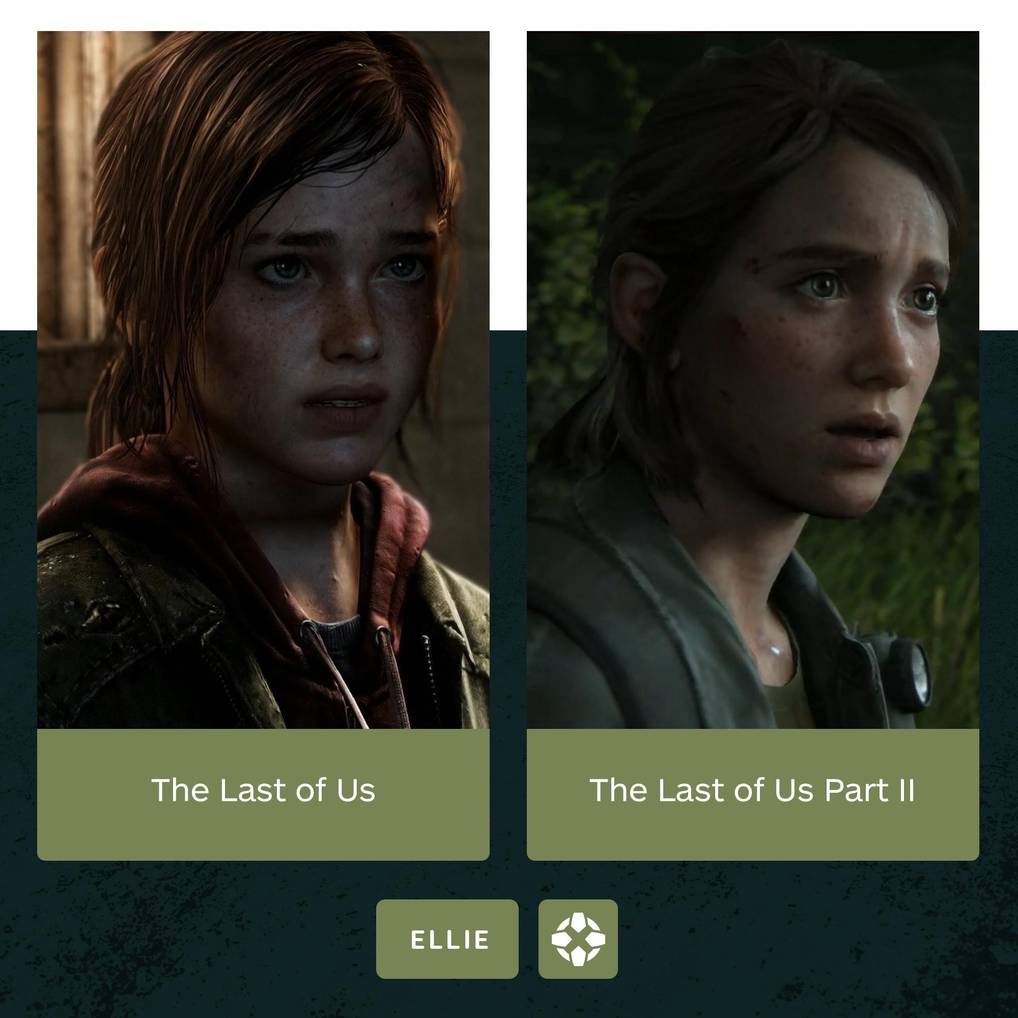 5年岁月如刀 IGN晒出《最后生还者》乔尔艾莉对比图