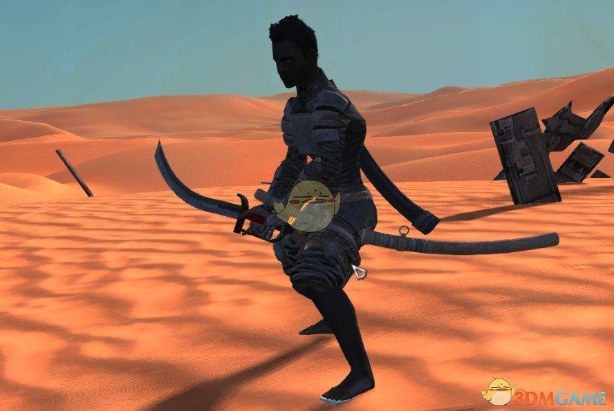 《剑士》战斗中的冲刺和站立动作MOD
