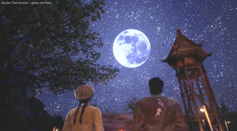 苍茫之夜的神秘预言!《莎木3》全新预告片公开