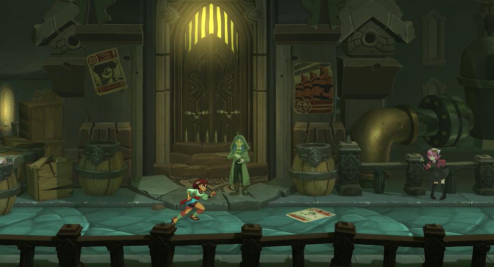 动作游戏《Indivisible》发布新预告,将于10月8日上线PC、PS4与Xbox one