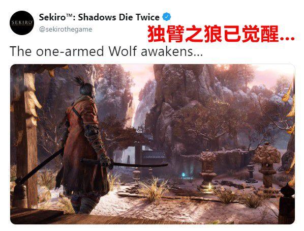 """""""独臂之狼已觉醒""""FS社暗示《只狼》DLC?"""