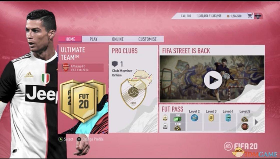 《FIFA 20》otw动态卡含义介绍