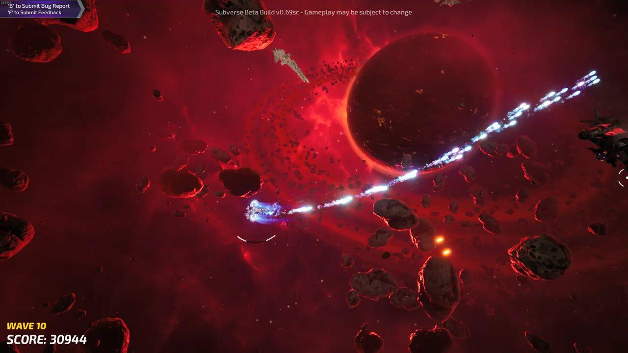 马头社《Subverse》封测实机演示 无尽的射爆之旅