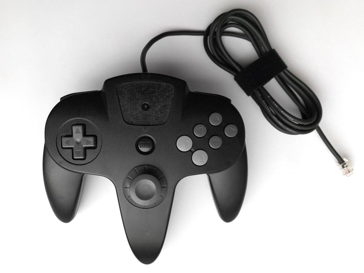 略有不同 N64手柄废案原型曝光