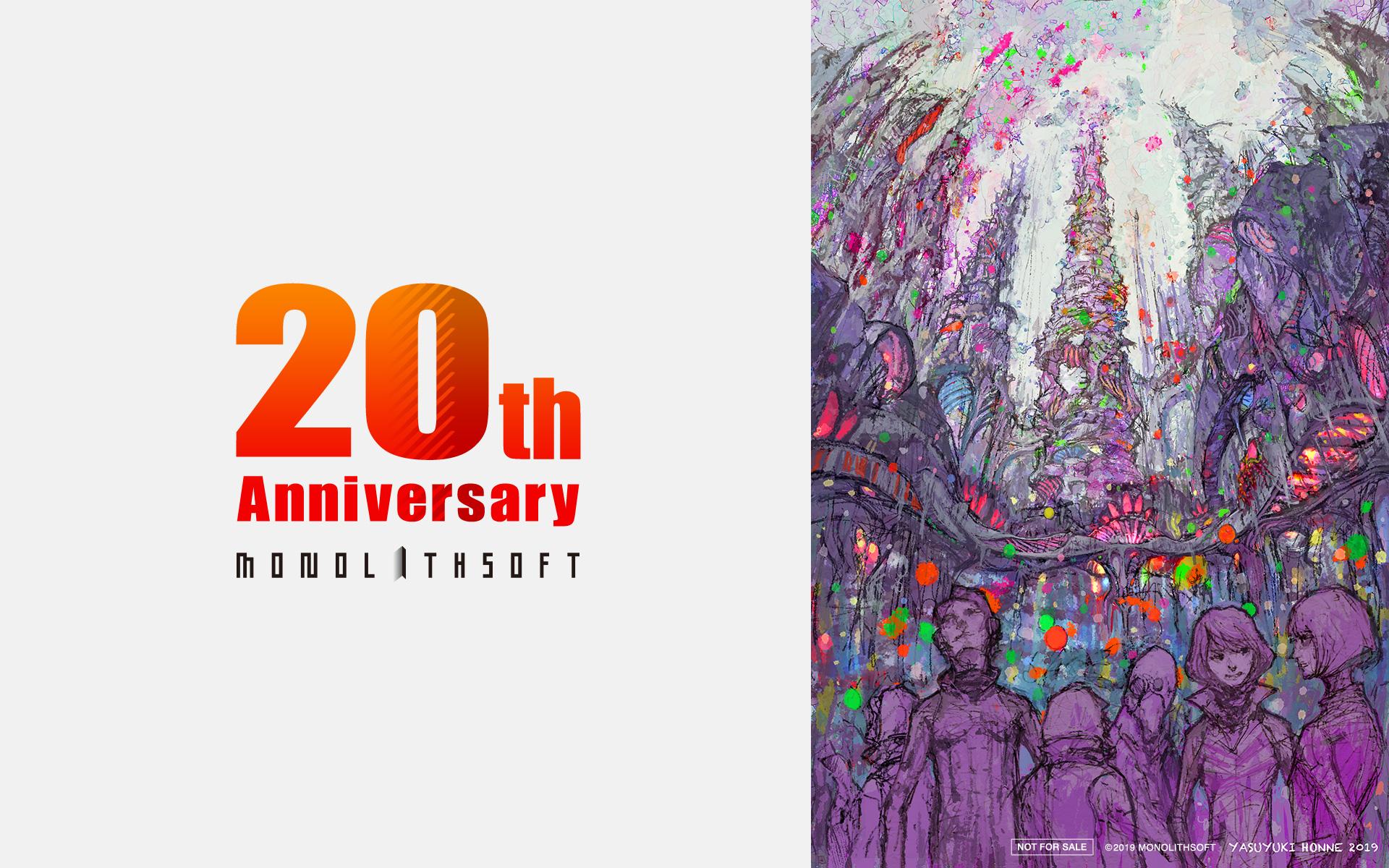 Monolith欢庆成立20周年!官方公布异度主题精美贺图