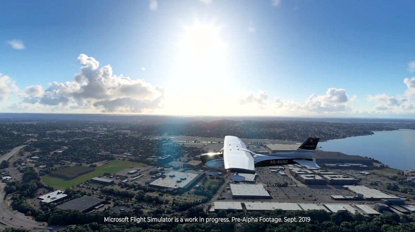 《微软飞行模拟》新演示 风景这边独好