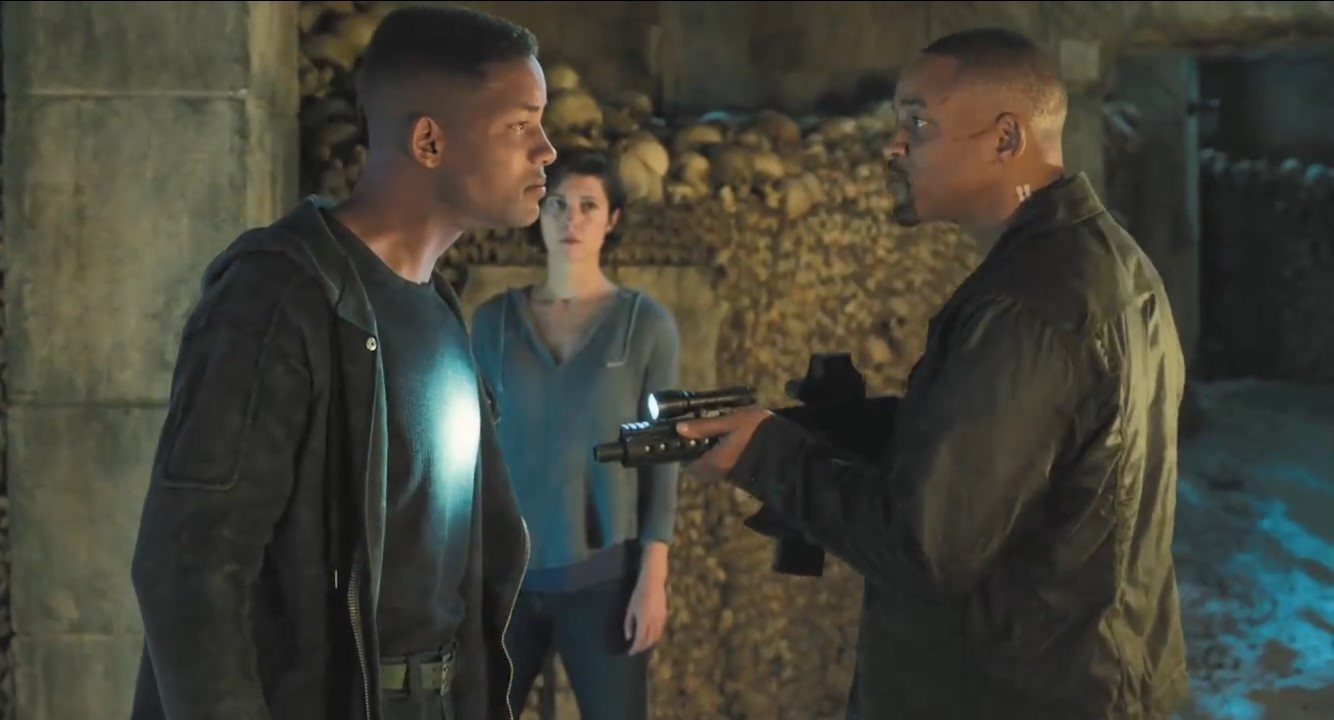 李安《双子杀手》新片段 新老史皇打得不可开交