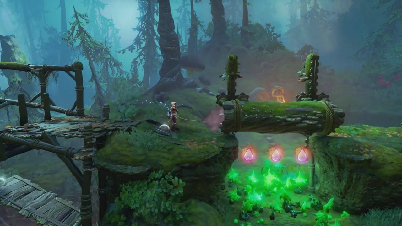 《三位一体4:梦魇王子》概览预告片介绍游戏机制