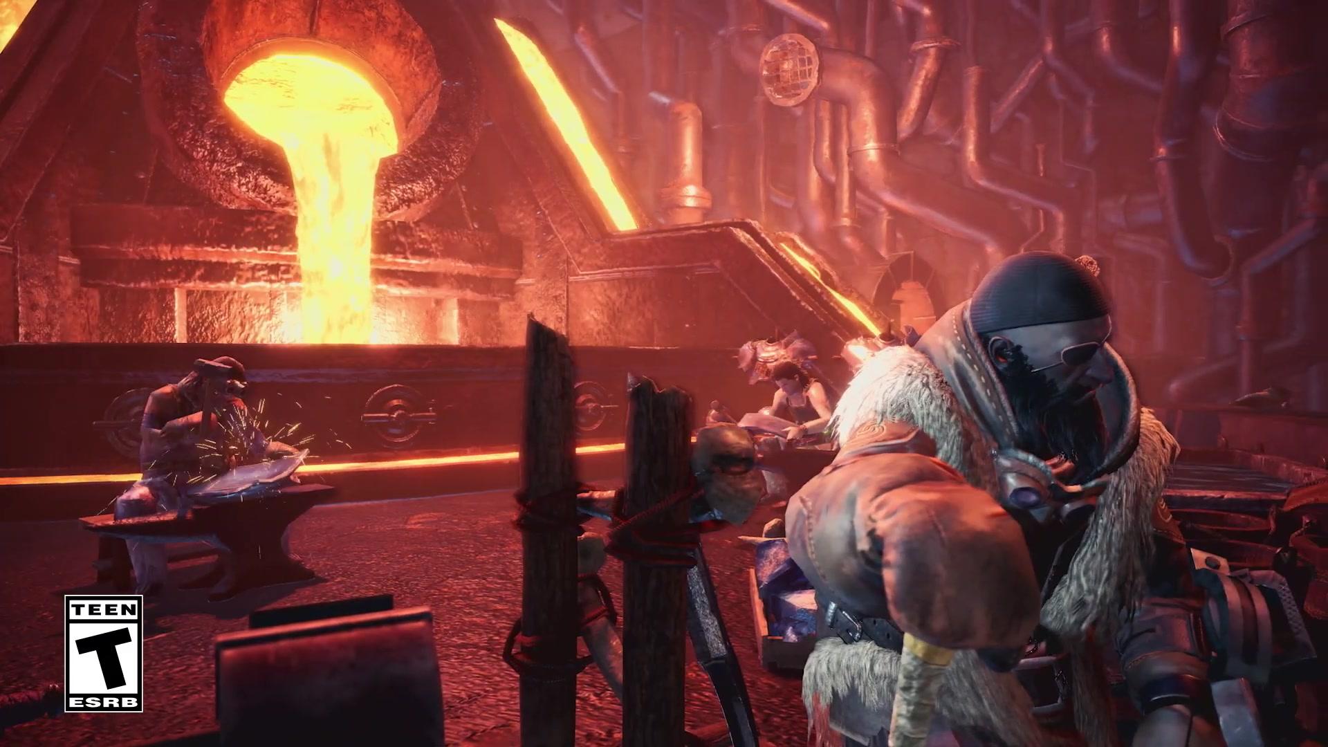 《怪物猎人世界:冰原》将联动《生化危机2重制版》