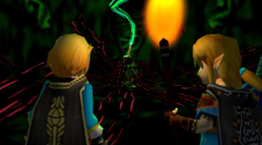 夢回1999 大神制作《塞爾達傳說:曠野之息》續篇N64版宣傳片