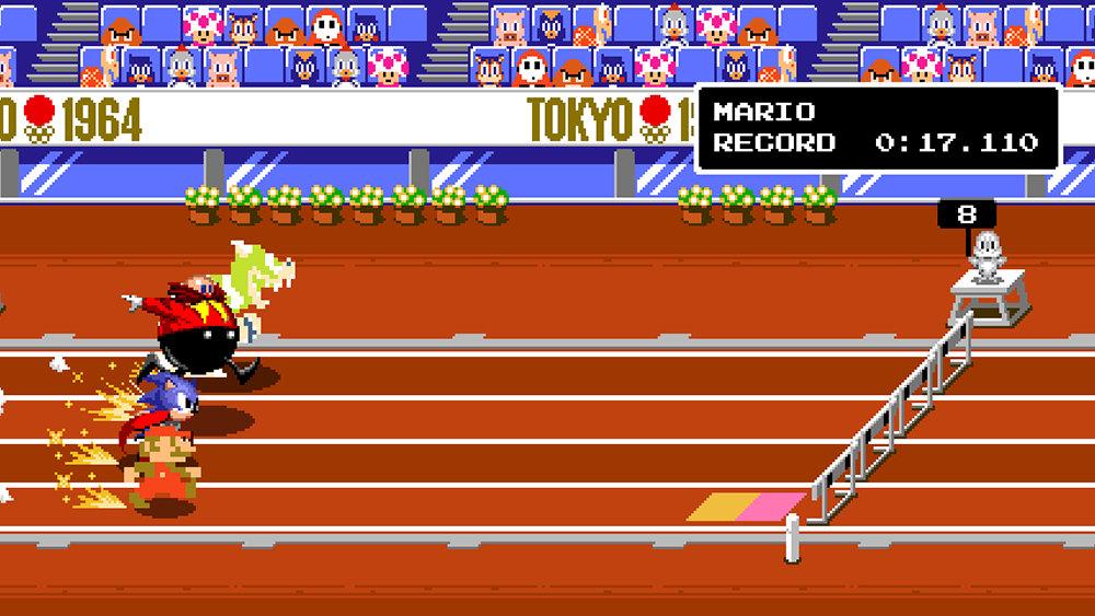 情怀满满 《马里奥和索尼克的东京奥运会》点阵玩法公开