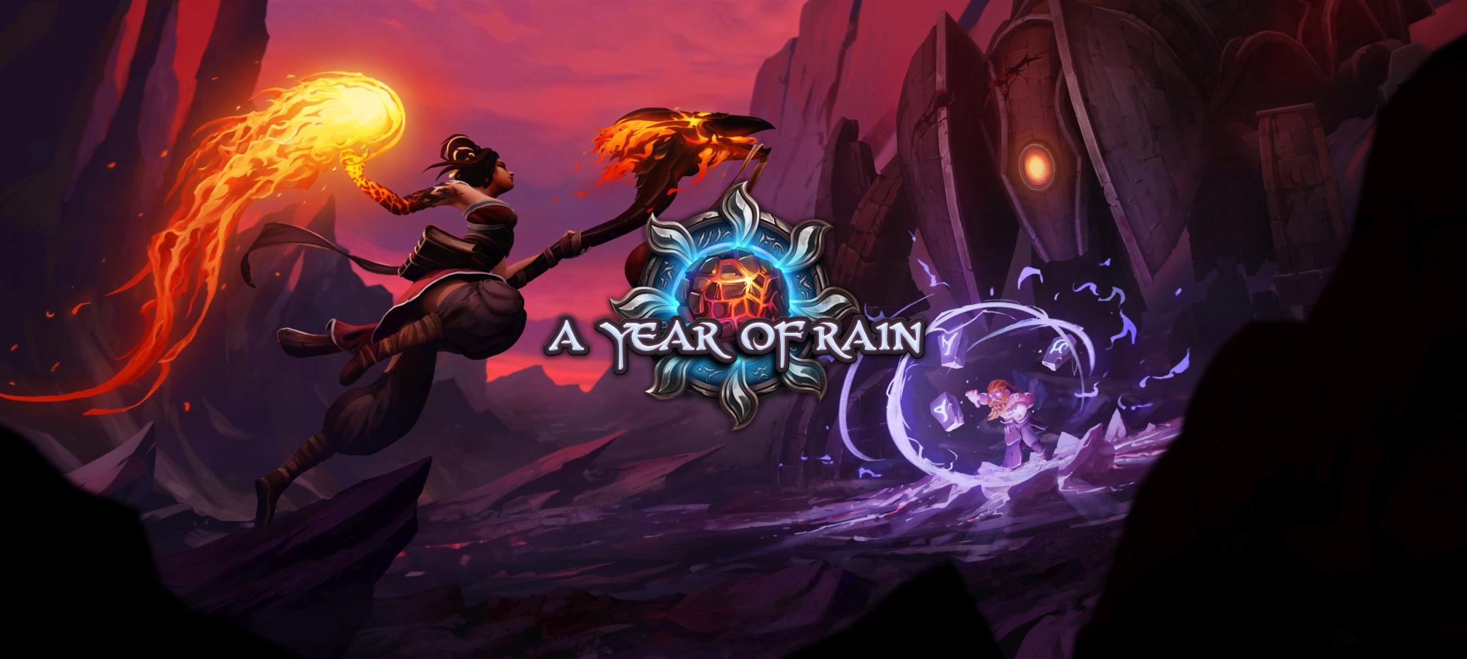 合作策略游戏《雨之年》确认11月发售