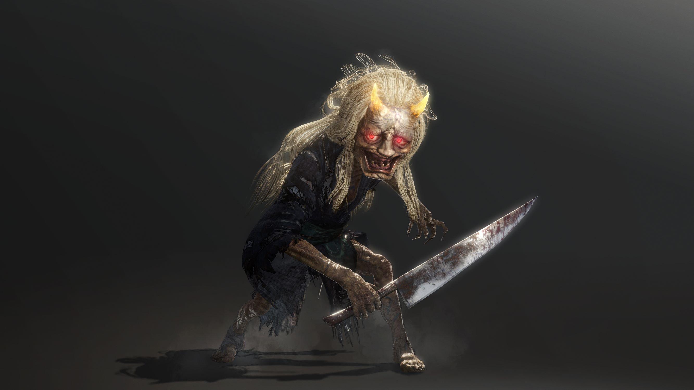 《仁王2》新怪物山姥公开 人物捏脸环节设定有趣