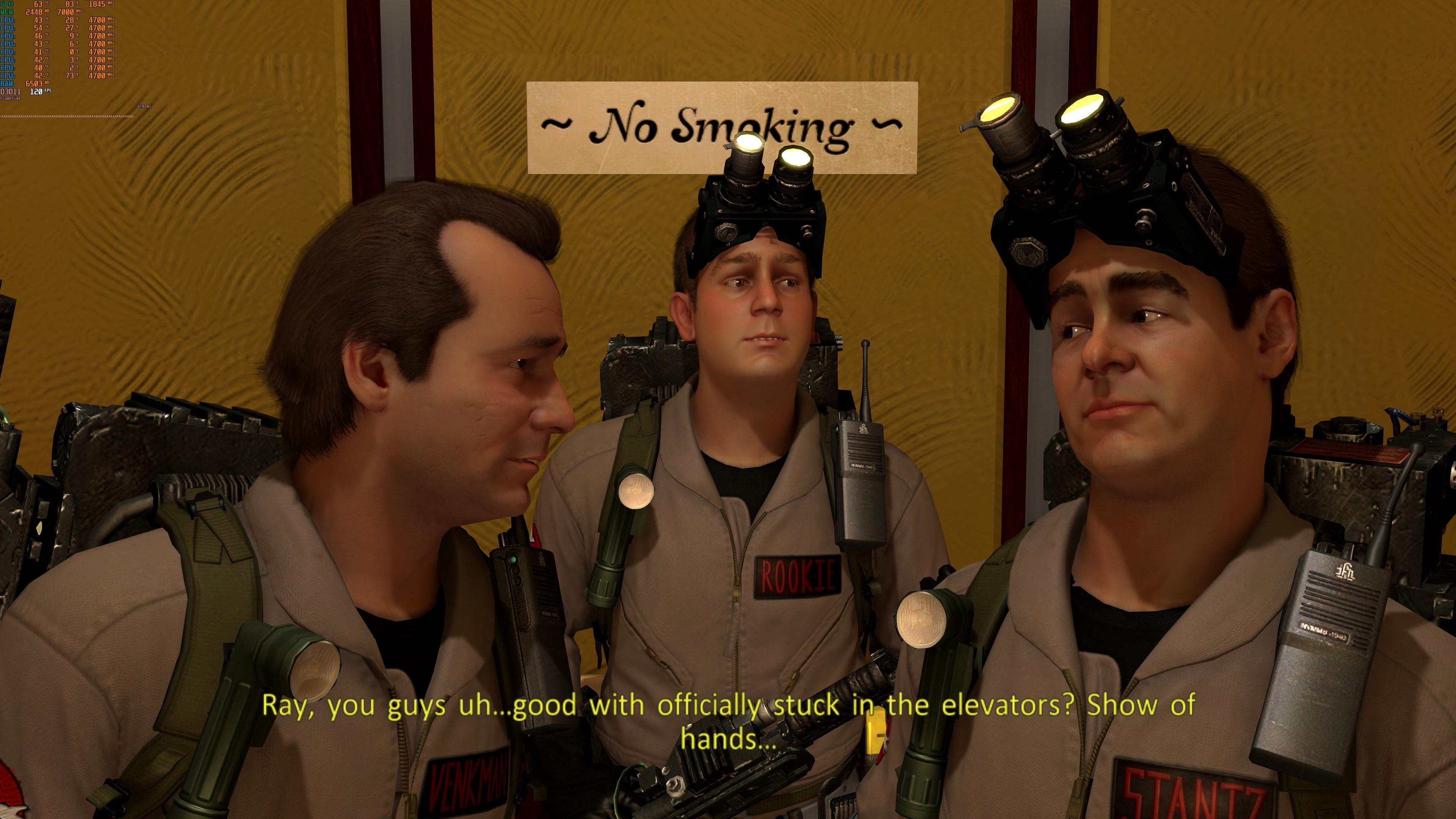 《捉鬼敢死队:游戏版》性能表现预览 超清截图赏