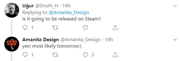 《机械迷城》开发商新作发售 即将登陆PC平台