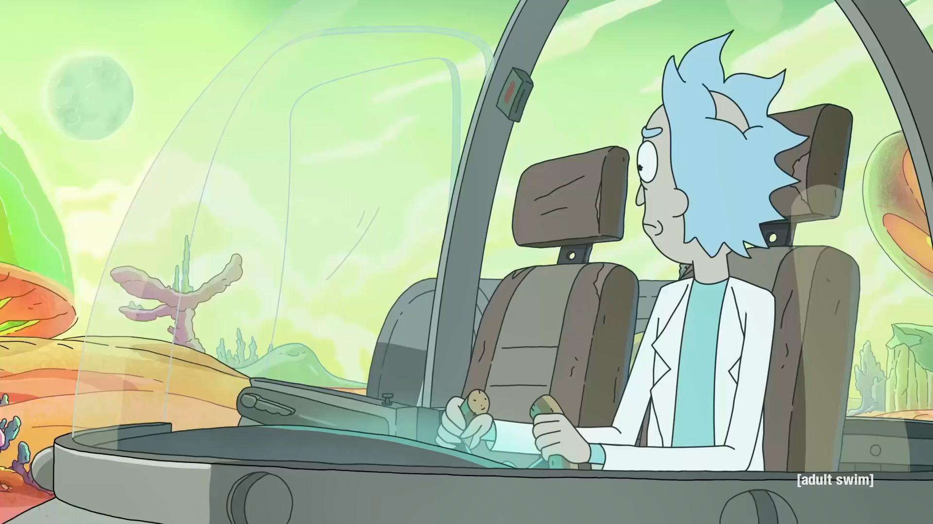 《瑞克和莫蒂》第四季正式预告放出 11月10开播